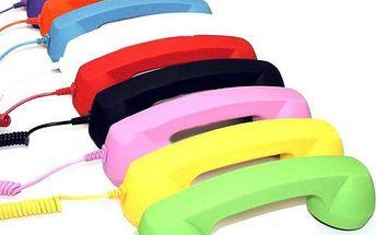 Retro sluchátko k mobilnímu telefonu - na výběr z 8 barev