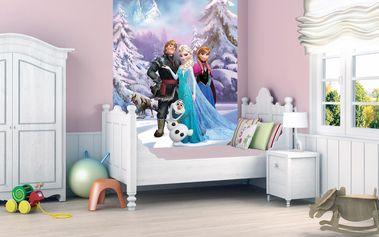1Wall fototapeta Disney Frozen (Ledové království) 158x232 cm