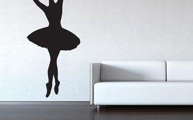Samolepka na zeď - Baletka