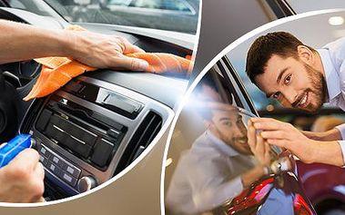Kvalitní autokosmetika Dannev: kompletní sada pro čištění interiéru nebo mytí exteriéru vozidla