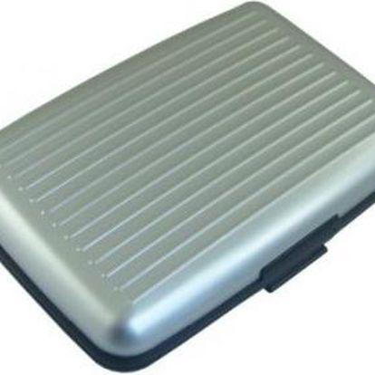 PRAKTICKÁ DOKLADOVKA (Aluma Wallet) - stříbrná