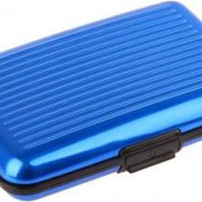 PRAKTICKÁ DOKLADOVKA (Aluma Wallet) - modrá