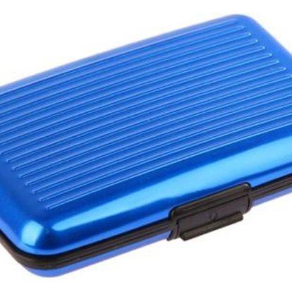 Praktická dokladovka Aluma Wallet - modrá
