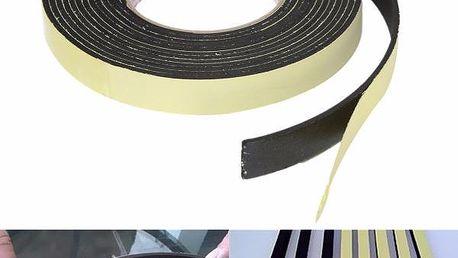 Pěnová lepicí páska v černé barvě - 5 m