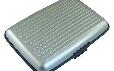 Praktická dokladovka Aluma Wallet - stříbrná