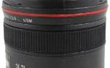 Teleskopický hrnek pro fotografy - objektiv Lens Cup