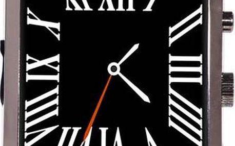 Chytré hodinky pro Android i iOS s koženým páskem
