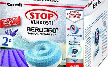 Ceresit Stop vlhkosti AERO 360° tablety 2 x 450g Levandula