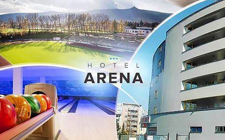 Liberec - sportovní pobyt na 3-5 dní pro 2 nebo 4 osoby v hotelu*** včetně snídaní či polopenze, aktivit a slev!