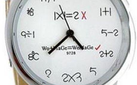 Náramkové hodinky na ruku pro matematiky - 3 barvy
