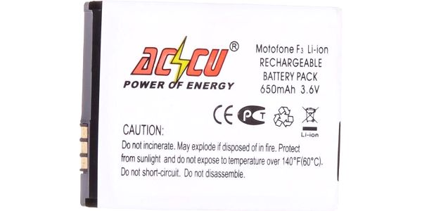 Accu baterie za Motorola za SNN5796A 650mAh Li-Ion