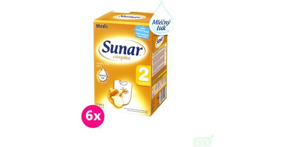 Sunar Complex 2 (nový) - 6x600g + + doprava zdarma