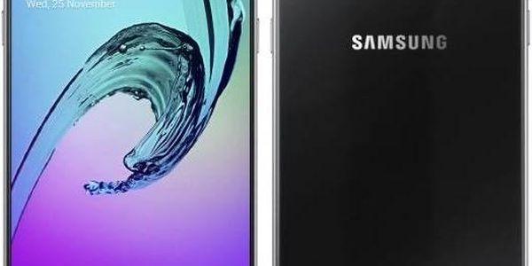 Samsung Galaxy A5 2016 (SM-A510F) (SM-A510FZKAETL) černý + dárek Voucher na skin Skinzone pro Mobil CZ + Doprava zdarma