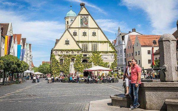 1denní zájezd do Weidenu na výhodné nákupy a do aquaparku pro 1 osobu