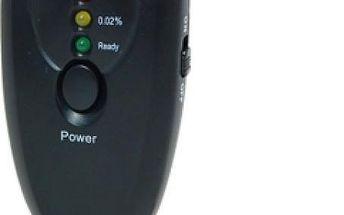Alkotester na klíče s LED světlem - skladovka - poštovné zdarma