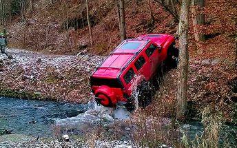 45minutová adrenalinová jízda v Hummeru H3