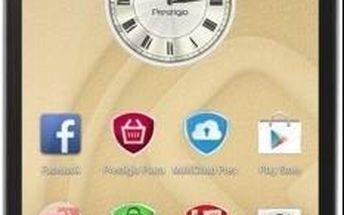 Smartphone PRESTIGIO MultiPhone 5507 DUO černý