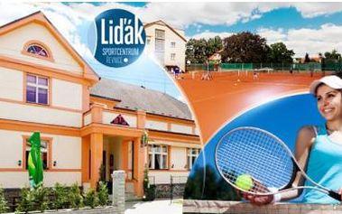Střední Čechy, Řevnice! Sportovní pobyt až na 5 dní pro 2 osoby. Polopenze + pronájem tenisových kurtů každý den.