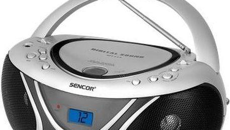 Rádio s CD přehrávačem Sencor SPT 227 S