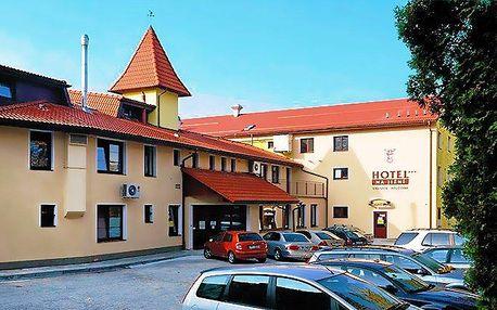 3–5denní pobyt s polopenzí a saunou pro 2 v hotelu Na Jižní*** v Přerově