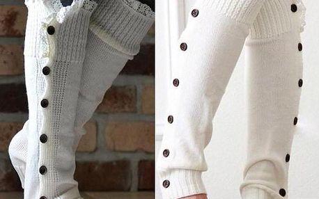 Teplé zimní návleky na nohy