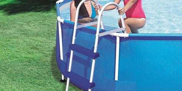 Schůdky do bazénu s výškou 76 cm