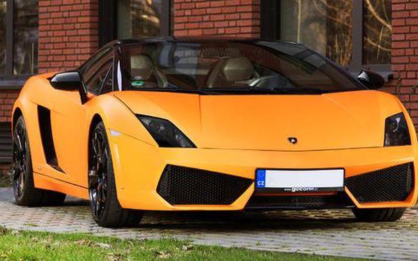 Řízení nejoblíbenějšího Lamborghini Gallardo LP560–4