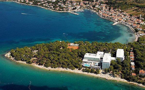 Chorvatsko - Zadar na 8 až 10 dní, polopenze s dopravou vlastní nebo autobusem 20 m od pláže