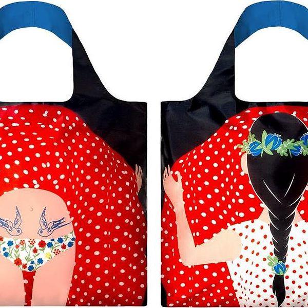 Skládací nákupní taška Flashing Girl by Cristina Caramida
