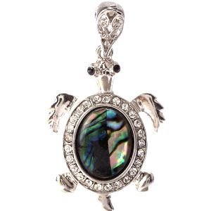 Přívěsek želva Paua perleť