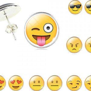 Veselé náušnice Emoji