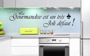 Samolepka Ambiance La gourmandise