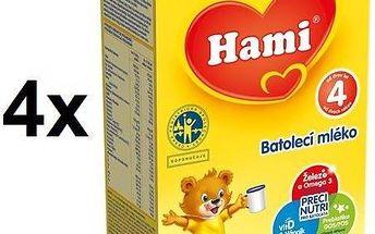 Hami 4, 500g x 4ks + DÁREK