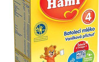 6x HAMI 4 s vanilkovou příchutí (500 g) - kojenecké mléko