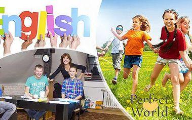 Letní týdenní tábor s angličtinou pro děti od 6 do 15 let i dospělé od 15 do 60 let v Plzni