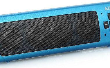 Přenosný reproduktor AEG BSS 4818, modrý + 200 Kč za registraci