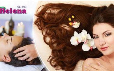 Regenerační vlasová kúra pro všechny délky vlasů. Ampule pro růst vlasů + arganová maska, masáž a možnost melíru.