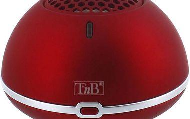Přenosný reproduktor TnB HPBMICRD, červený + 200 Kč za registraci