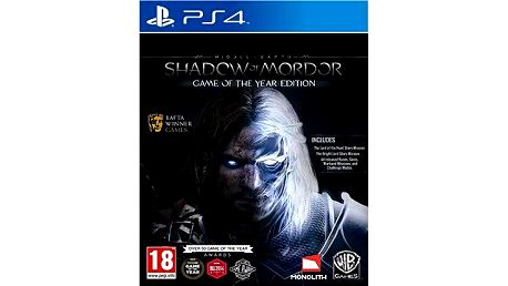 PS4 - Middle-earth: Shadow of Mordor Game of The Year Edition