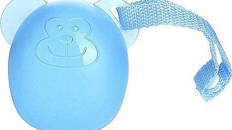 DIAGO Pouzdro na dudlík opička modrá
