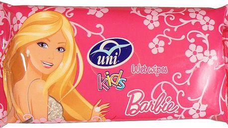 UNI Barbie vlhčené ubrousky (15 ks)