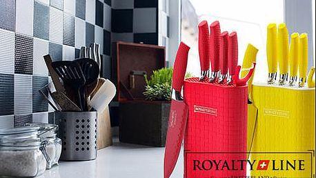 7dílná sada kuchyňských nožů Royalty Line Switzerland