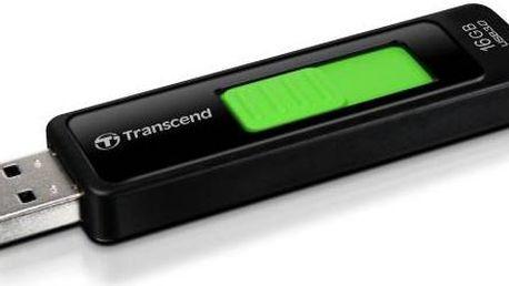 USB Flash Transcend JetFlash 760 16 GB (TS16GJF760) černý/zelený