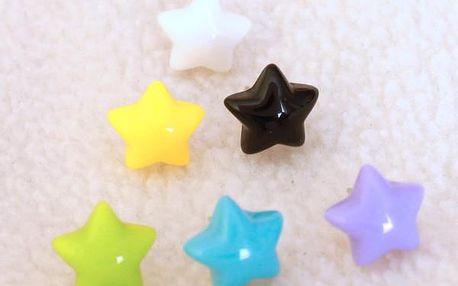 Náušnice hvězdičky - dodání do 2 dnů