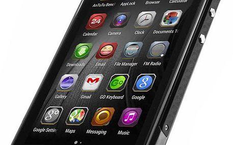 Smartphone Doogee Titans2 DG700, Dual Sim, 8GB, černý + 200 Kč za registraci