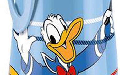 NUK modrá FC Láhev PP Sports Cup,DISNEY Donald 450ml, silikon push-pull pítko