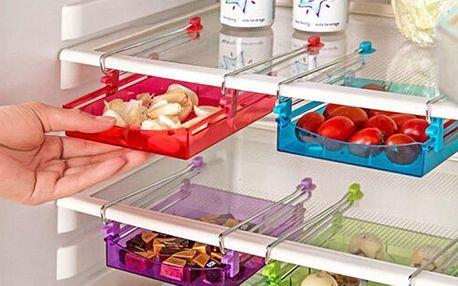 Praktický šuplík do lednice