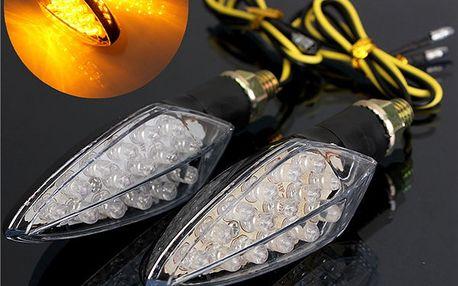 LED blinkry na motorku - 15 diod