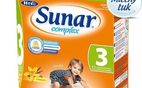 6x Sunar complex 3 vanilka (600 g)