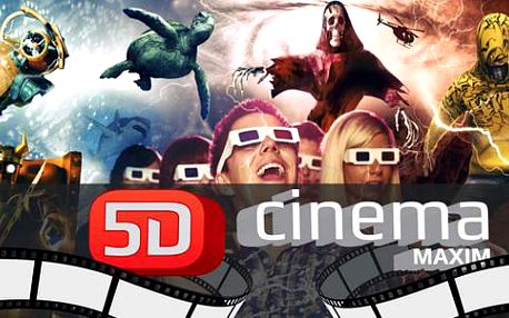 Dechberoucí zážitky s novými filmy v 5D Cinema Maxim